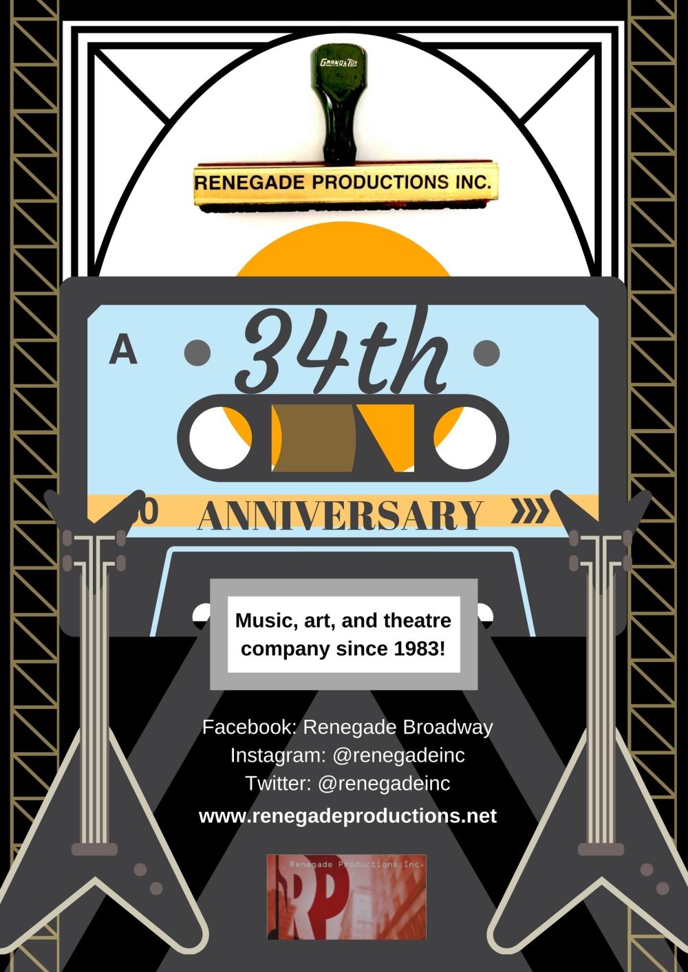 34th anniversary (cassette)